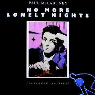 """Parliamo di Paul McCartney e della canzone """"No More Lonely Nights"""" del 1984."""