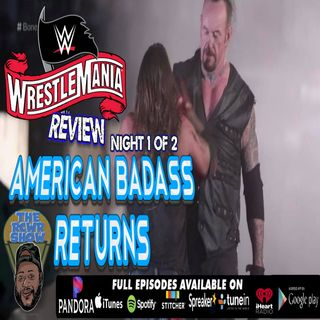 Wrestlemania 36: American Badass Undertaker Returns in Classic Boneyard Match! Night 1 of 2 Review