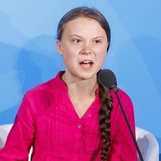 Il complotto del surriscaldamento globale e di Greta Thunberg
