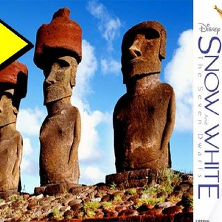 The Mandela Effect and Easter Island.