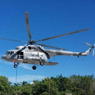 Localizan helicóptero siniestrado en Querétaro