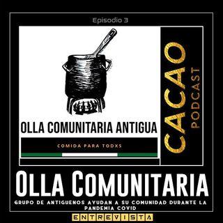 E3 Olla Comunitaria en Antigua Guatemala, Sacatepéquez, GUA