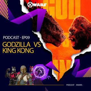 XWARS #09  Godzilla vs King Kong
