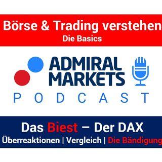 Das Biest: Der DAX | Überreaktionen, Volatilität, Risiken, andere Indizes | Die Bändigung des Biests