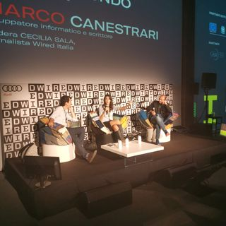 Il mio panel con Nicola Biondo al Wired Next Fest 2019