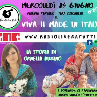 Non Ditelo a Vale - Puntata del 26/06/2019 - Viva il Made in Italy- Intervista ai BBX e Ornella Auzino