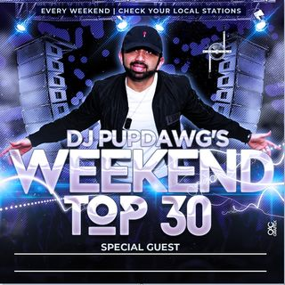 DjPupDawg 2019 Year End Countdown Weekend Top30