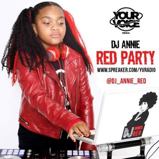DJ Annie Red Party: Hip Hop Mix