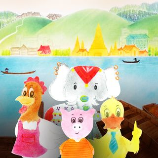 The Little Red Farm: Journey Through Thai-Ly Land Part 1