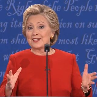 Polls say Clinton won the first debate