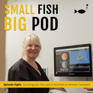 Ep8: Surviving your first year in business (pandemic and all) with Morven Campbell