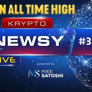 Krypto Newsy Lite #308 | 20.10.2021 | Bitcoin osiąga All Time High! Świętujemy pierwsze ATH w bessie ;) Pomóżmy Synapse Network w walce!