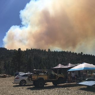 Episode 115: Fire...A Campground Evacuation Story!