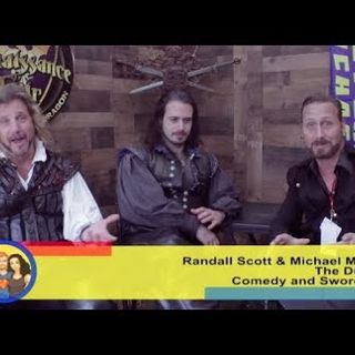 SwordPlay and WordPlay with The Duelists: an interview on the Hangin With Web Show