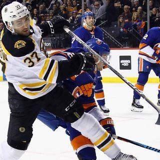 Bruins Nearing Top Of NHL Standings
