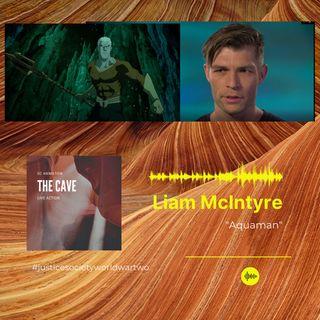 Liam McIntyre Voices Aquaman