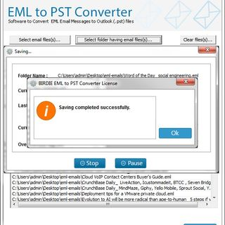 Import Data from EML to Outlook