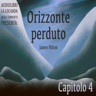 Audiolibro Orizzonte Perduto - Capitolo 04