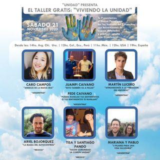 Viviendo la Unidad exposición de  Ariel Bojorquez