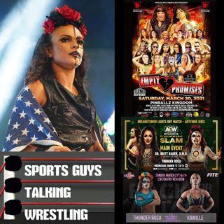 Thunder Rosa AEW MPW NWA Mar 16 2021