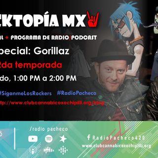 #ROCKTOPÍA MX - 2a Temporada - Programa 6 - Especial: #Gorillaz | #AlAire 🎧🎙🎚