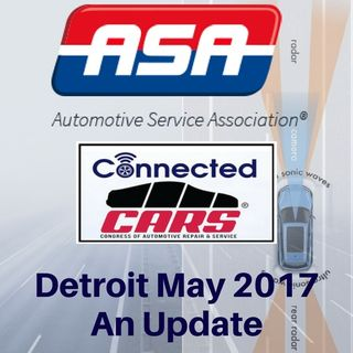 RR 226: Connected CARS Detroit May 2017 – An Overview
