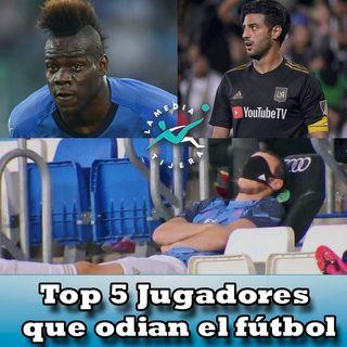 Jugadores que no les gusta el Fútbol