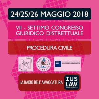 Settimo Congresso Giuridico Distrettuale -  Procedura civile