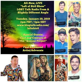 Left of Str8 Show 2019, Episode 8 Ken Arpino, Andre Jordan and Paul Richmond