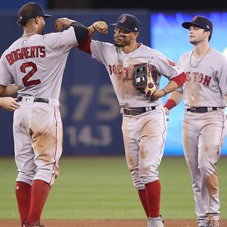 Surging Red Sox Still Dominating Blue Jays