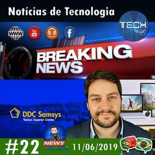 DDC2019, Google Stadia e Top 10 Androids - Notícias #22