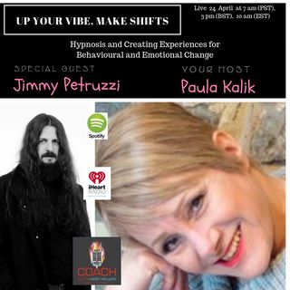 Hypnosis for Behavioural and Emotional Change with Jimmy Petruzzi