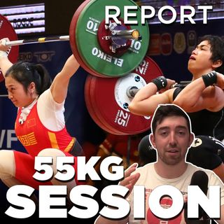 Tokyo Weightlifting W55 REPORT