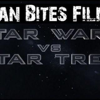 Man VS Film: Star Wars Vs Star Trek