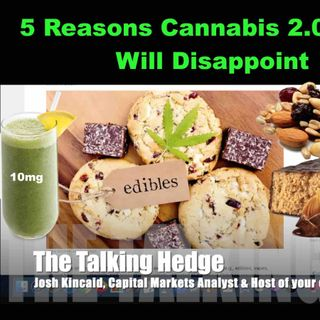 5 Reasons Cannabis 2.0 Sales Will Disappoint in Canada