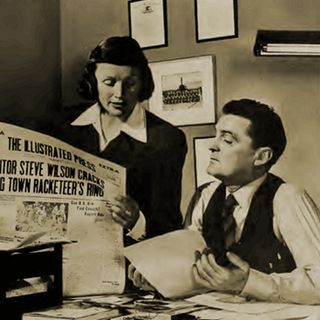 Classic Radio Theater for May 10, 2021 Hour 3 - The Illustrated Press investigates a Dressing Room Murder
