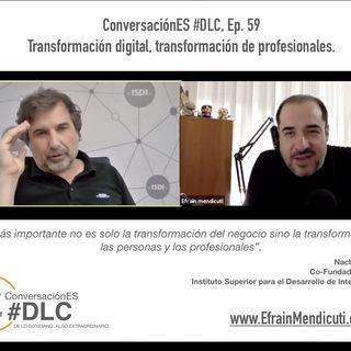 Episodio 59  - ConversaciónES #DLC con Nacho de Pinedo