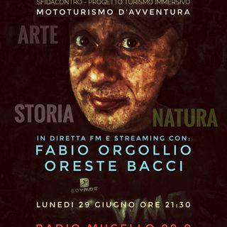 """24.08.2020 Recording Rubrica di David Mosconi """"Turismo Immersivo"""" su Radio Mugello 99.0"""