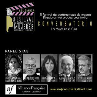 Conversatorio La Mujer en el Cine - mayo 14 2021