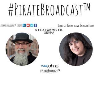 Catch Sheila Farragher Gemma on the #PirateBroadcast™