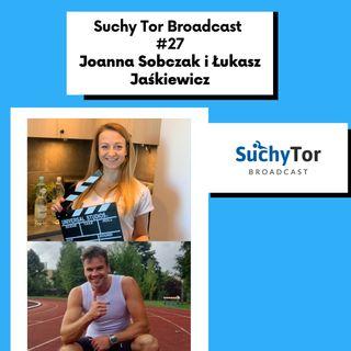 Prawidłowa dieta sportowca - Joanna Sobczak i Łukasz Jaśkiewicz w Suchy Tor Broadcast #27