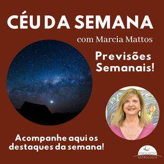 Céu da Semana - Domingo, dia 20/12 - Entrada de Mercúrio no Signo de Capricórnio.