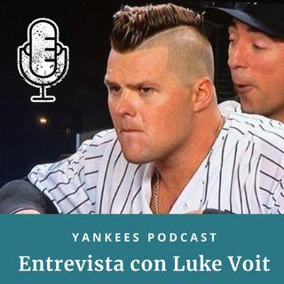 Entrevista con Luke Voit, primera base de los Yankees
