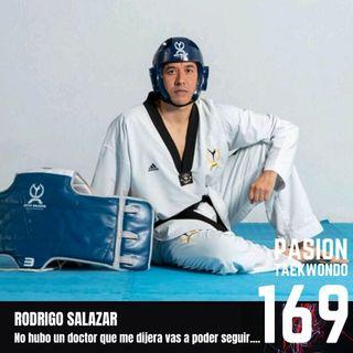 """Rodrigo Salazar """"Ningún doctor me dijo que iba a poder seguir"""""""