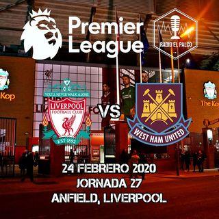 Liverpool vs West Ham United en VIVO