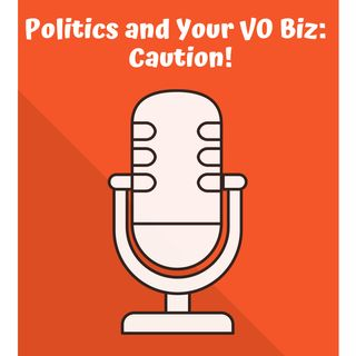 Politics and Your VO Biz: Caution!