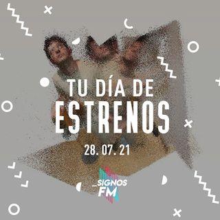 SignosFM #TuDíaDeEstrenos Antes de terminar con julio