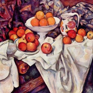 Musée d'Orsay #8 - Paul Cezanne, Martwa natura z jabłkami i pomarańczami