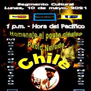 """Homenaje al poeta clásico chileno, Pablo Neruda * Interpretaciones musicales de """"Los Ángeles Negros"""" (también de Chile)."""