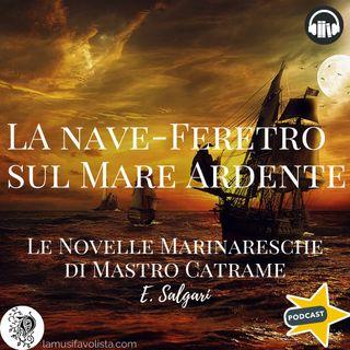 LE NOVELLE MARINARESCHE DI MASTRO CATRAME • 12 ☆ E- Salgari ☆ Audiolibro ☆